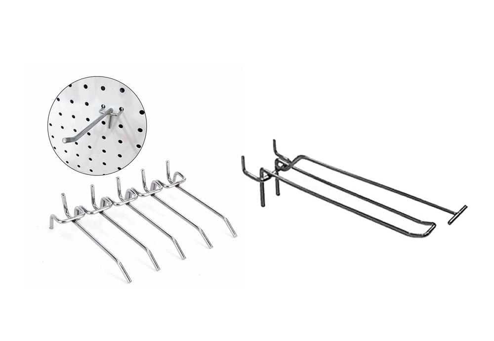 Купить крючки для перфорированных стеллажей