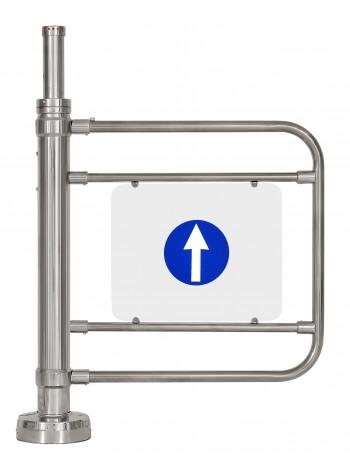 Калитка электромеханическая с гидромеханическим доводчиком К32МХром