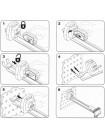 Защитный крючок для панелей с перфорацией СК-2 , 150 мм