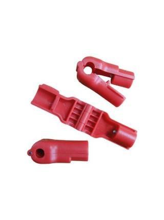 Фиксатор товаров на крючках Стоп Лок (STOPLOK) Красный, 6мм